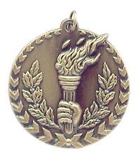Gold Torch Medal w/ FREE Ribbon-Low Ship #XM133