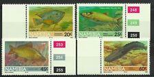 NAMIBIE NAMIBIA POISSONS CHAT CARPES TILAPIAS CATFISH BLUE KURPER FISCHE ** 1992