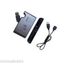WHITCOM USB CARD READER USB Alu Gehäuse  2.0 35-IN-1 SILBER/SCHWARZ NEU & OVP