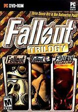 Fallout Trilogy PC DVD  with Box