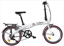 """ecosmo 20 """" roue aluminium léger pliable vélo bicyclette 7 SP, 12kg - 20af09w"""