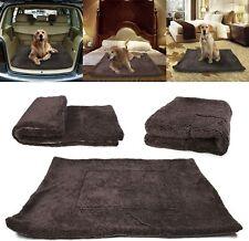New listing Waterproof Pet Blanket Soft Fleece Dog Bed Mats Pad Cushion for Car Lap Sofa Us