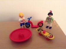 Playmobil Playground Scooter Skateboard Children Roundabout