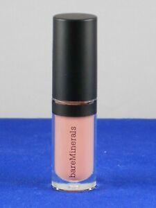 bareMinerals GEN NUDE Buttercream Lipgloss FORBIDDEN Light Nude Pink Travel 2ml