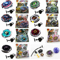 Rare Beyblade Fusion Top Metal Fight Master 4D Rapidity Launcher Set Kid Boy Toy