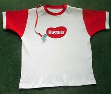 """Adult Baby Embroidered Diaper Shirt Huggies Logo 40"""" Chest"""