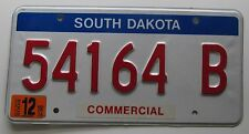 South Dakota 2003 COMMERCIAL VEHICLE License Plate HIGH QUALITY # 54164 B