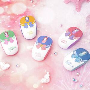 Hot Anime Sailor Moon Wireless Gaming Mouse Mars Mercury Jupiter Venus USB Mice