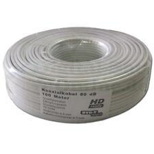 ► 100 m Mini câble coaxial 4,5 mm 80db 2 positions double HDTV 4k milmeit Coaxial-Câble mini