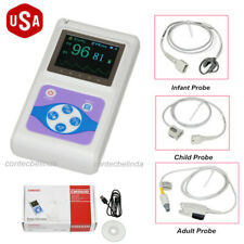 CMS60D Handheld Pulse Oximeter+Adult,Paediatric & Neonatal 3 Probes CONTEC USA