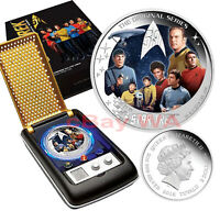 2016 STAR TREK Original Series 2 oz SILVER The Crew Communicator PERTH MINT NEW
