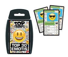 Top Trumps Top 30 Emotis