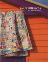 "Long Time Gone Sampler Quilt Pattern by Jen Kingwell 66.5"" X 67.5"""