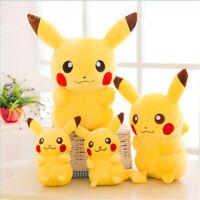 Pokemon Pikachu Doux Farci Poupée Peluche Oreiller Jouets Décoration de maison