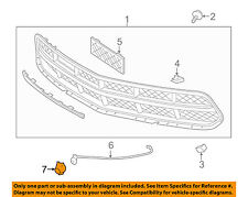 Chevrolet GM OEM 16-18 Corvette Front Bumper Grille Grill-Bezel Right 84016652