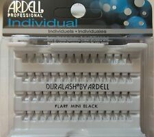 (LOT OF 72) Ardell Duralash Knotted FLARE MINI Individual Eyelashes Black