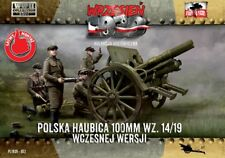 First To Fight - 100mm Polish wz. 14/19 Howitzer - 1:72