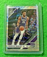 MARVIN BAGLEY SILVER PRIZM OPTIC CARD JERSEY#35 KINGS 2019-20 Donruss Optic WAVE