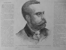 1885 1892    VACCINATION CHOLERA FERRAN STANPOPE 2  JOURNAUX