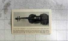 1905 Stradivari Violin Sells For Just £600