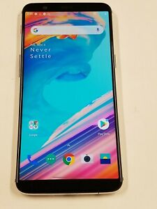 OnePlus 5T - A5010 - 128GB - White - T-Mobile Unlocked - 100% Functional - 253SP