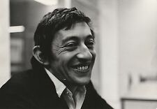SERGE GAINSBOURG PHOTO ORIGINALE
