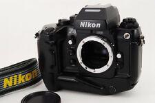 Near MINT Nikon F4s LATE MODEL 35mm SLR Body w/MB-21 MF-22 Strap from Japan a260