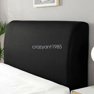 Protector Elastic Dustproof Cover Comfortable Headboard Slipcover Solid Color