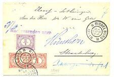 NEDERLAND 1903 DRUKWERK = MIDDELBURG =  TO FRANCE  F/VF