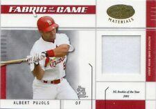 2003 (CARDINALS) Leaf Certified Materials Fabric/Game #28IN Albert Pujols
