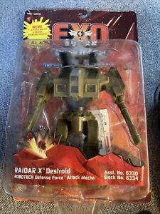 EXO SQUAD ROBOTECH MACROSS RAIDAR X DESTROID New SEALED 1994 Defense Force 6334