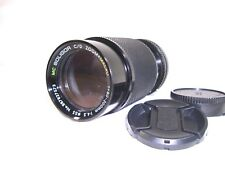 【 GOOD!  】SOLIGOR C/D ZOOM MACRO f=80-200 1:4.5  for Canon FD Mount  from Japan