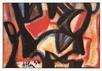 CP ART TABLEAU JEAN MICHEL ATLAN Peinture