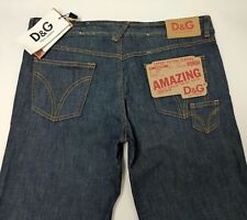 New Dolce & Gabbana Womens Jeans Oversize Relaxed Straight W34 L36 NWT RRP £245