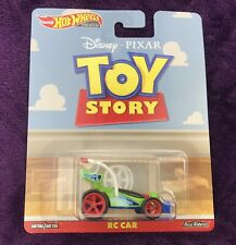 Hot Wheels 2019 Toy Story Movie RC CAR Pixar Green Blue Real Riders