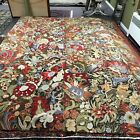 Michaelian & Kohlberg Vintage French Aubusson Style Hand Knotted Tapestry Carpet