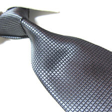 "XL 100% Polyester Microfibre Woven Tie,Grey Men's Necktie TPL259 63"" Extra Long"