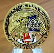 Air Force Eagle Challenge Coin USAF Service Before Self First Sergeants