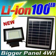 Solar Light 100 SMD LED 4W Solar Panel Outdoor Waterproof Flood Light