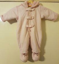 Rocha john rocha pink snowsuit age 0-3 months