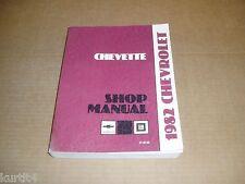 1982 Chevrolet Chevette service shop dealer repair manual