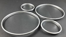 E30 Silver Cluster gauge Dashboard rings speedo M3 320is M325i BMW M3 3 Series