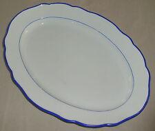 Meissner Porzellan Servier-Platte/Fleisch-Platte (da3024)