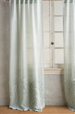 "Anthropologie Ophelia Curtains 96"" x 50"" Blue NWT - 3 panels Available"