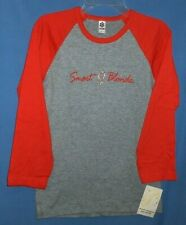 Smart Blonde Gray/Orange,Long Sleeve Crew Neck Shirt,Size Large-New With Tags
