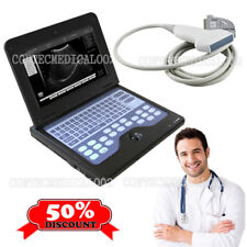 Portable Ultrasound Scanner Laptop Machine 7.5Mhz Linear Probe Diagnostic System
