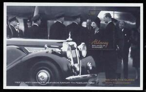Alderney #MiBl11 MNH S/S CV€8.00 2002 QEII Philipp Golden Jubilee [184]