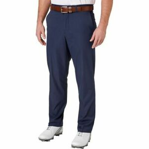 Walter Hagen Perfect 11 Majors Men's Plain Front Golf Pants NEW NAVY USA 32X30