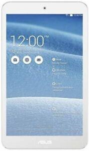 """Asus Memo Pad 8 ME181C 8"""" White Tablet Quad Core 1gb Ram 16gb Hdd"""