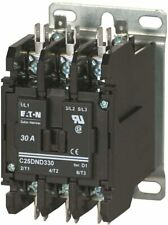 NEW EATON C25DND330A CONTACTOR DEFINITE PURPOSE 3P 30A 110-120VAC NIB